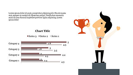 Funny Illustrative Presentation Template with Character, Slide 4, 04303, Presentation Templates — PoweredTemplate.com
