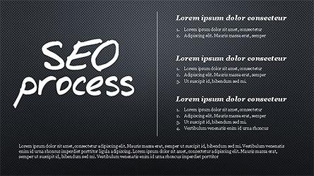 SEO Process Presentation Template, Slide 10, 04304, Presentation Templates — PoweredTemplate.com