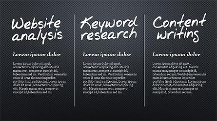 SEO Process Presentation Template, Slide 11, 04304, Presentation Templates — PoweredTemplate.com