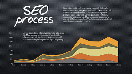 SEO Process Presentation Template, Slide 12, 04304, Presentation Templates — PoweredTemplate.com