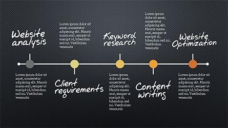 SEO Process Presentation Template, Slide 13, 04304, Presentation Templates — PoweredTemplate.com