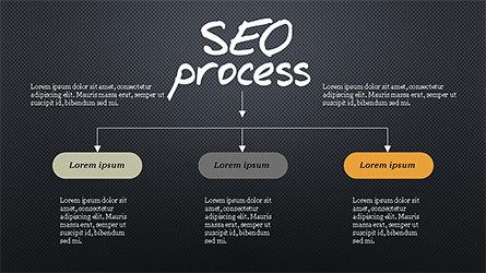 SEO Process Presentation Template, Slide 16, 04304, Presentation Templates — PoweredTemplate.com