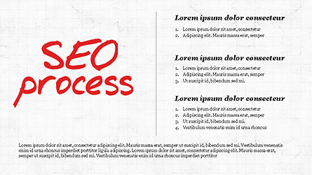SEO Process Presentation Template, Slide 2, 04304, Presentation Templates — PoweredTemplate.com