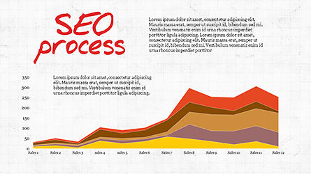 SEO Process Presentation Template, Slide 4, 04304, Presentation Templates — PoweredTemplate.com