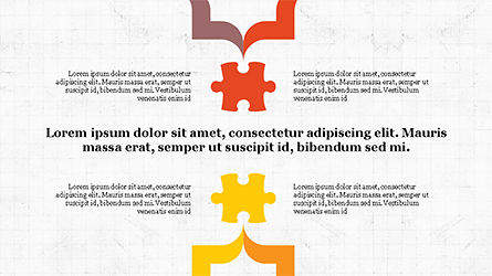 Puzzle Pieces Presentation Template, Slide 2, 04305, Puzzle Diagrams — PoweredTemplate.com