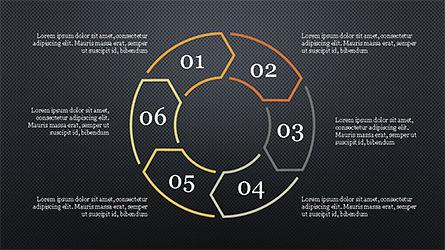 Infographic Shapes, Slide 11, 04306, Infographics — PoweredTemplate.com