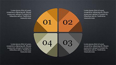 Infographic Shapes, Slide 12, 04306, Infographics — PoweredTemplate.com