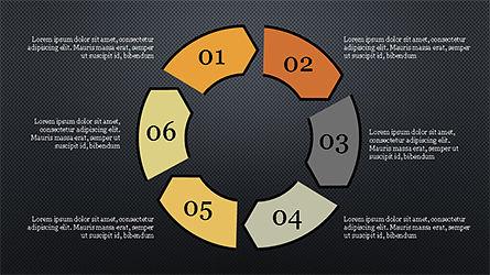Infographic Shapes, Slide 14, 04306, Infographics — PoweredTemplate.com