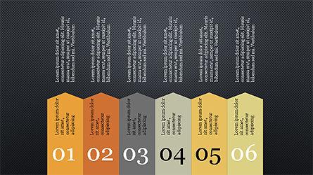 Infographic Shapes, Slide 15, 04306, Infographics — PoweredTemplate.com