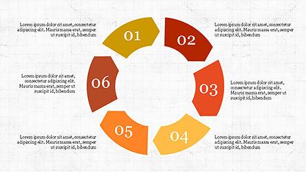Infographic Shapes, Slide 6, 04306, Infographics — PoweredTemplate.com