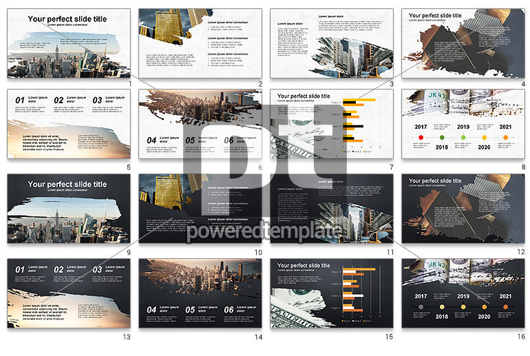 Brochure Style Presentation Template