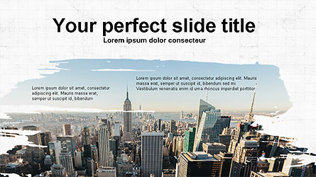 Brochure Style Presentation Template, 04308, Presentation Templates — PoweredTemplate.com