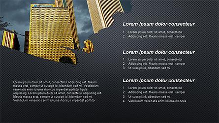 Brochure Style Presentation Template, Slide 10, 04308, Presentation Templates — PoweredTemplate.com