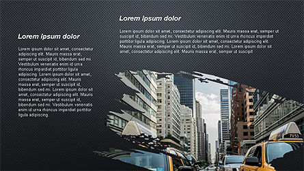 Brochure Style Presentation Template, Slide 11, 04308, Presentation Templates — PoweredTemplate.com
