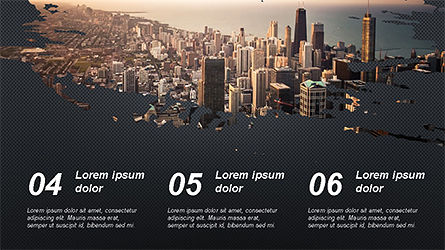 Brochure Style Presentation Template, Slide 14, 04308, Presentation Templates — PoweredTemplate.com