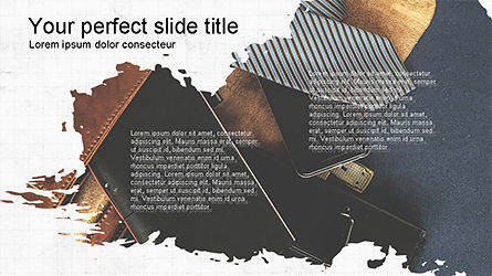 Brochure Style Presentation Template, Slide 4, 04308, Presentation Templates — PoweredTemplate.com