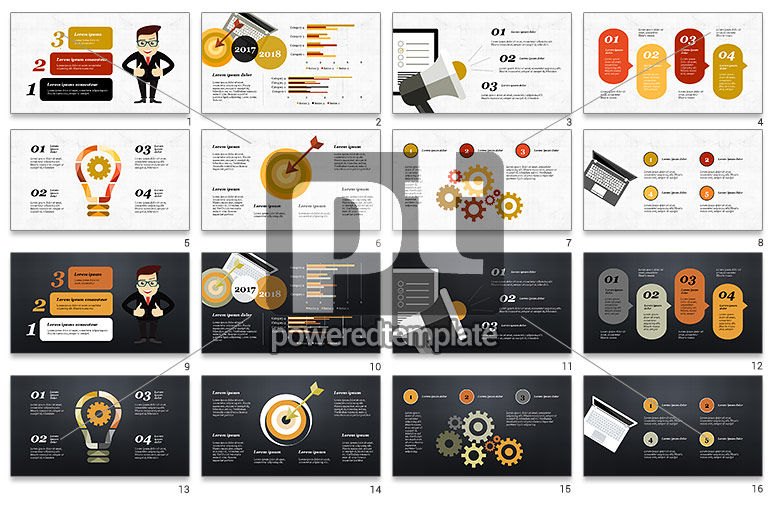 Marketing and Promotion Presentation Template