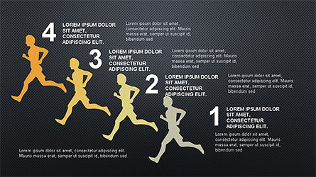 Infographics Report Template, Slide 13, 04312, Infographics — PoweredTemplate.com