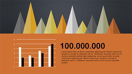 Infographics Report Template, Slide 14, 04312, Infographics — PoweredTemplate.com
