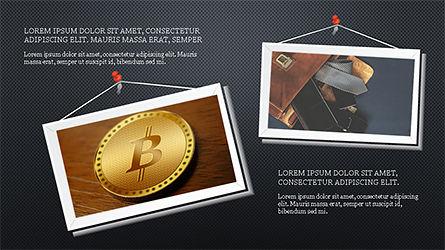 Presentation with Polaroid Photos, Slide 11, 04313, Presentation Templates — PoweredTemplate.com