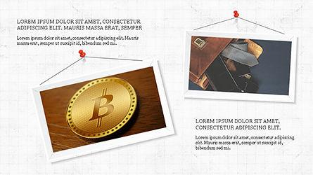 Presentation with Polaroid Photos, Slide 5, 04313, Presentation Templates — PoweredTemplate.com