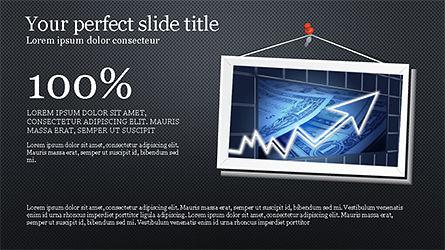 Presentation with Polaroid Photos, Slide 9, 04313, Presentation Templates — PoweredTemplate.com