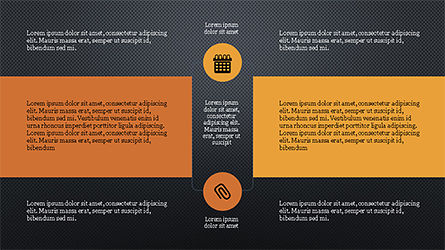 Process with Checkpoints Presentation Template, Slide 14, 04316, Presentation Templates — PoweredTemplate.com