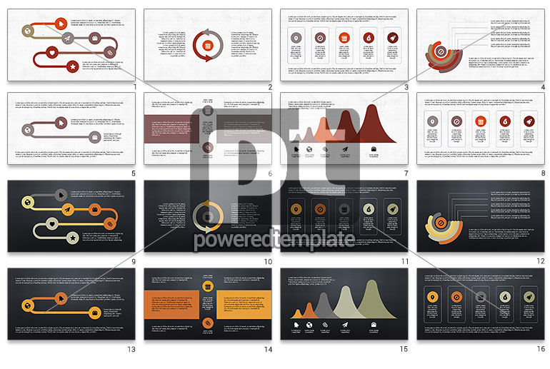 Process with Checkpoints Presentation Template