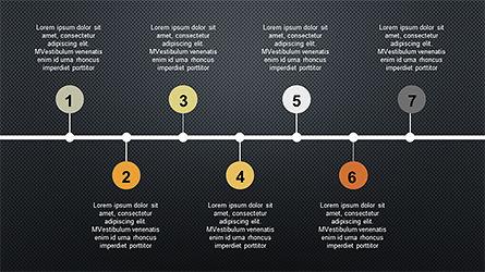 Sequential Process Slide Deck, Slide 11, 04317, Process Diagrams — PoweredTemplate.com