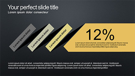 Sequential Process Slide Deck, Slide 12, 04317, Process Diagrams — PoweredTemplate.com