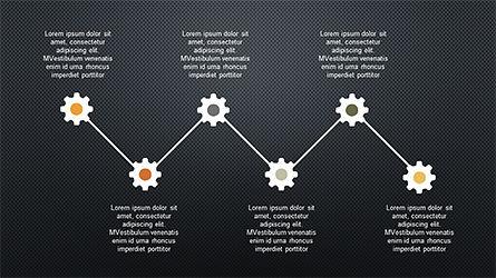 Sequential Process Slide Deck, Slide 13, 04317, Process Diagrams — PoweredTemplate.com