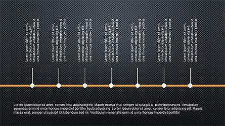 Sequential Process Slide Deck, Slide 16, 04317, Process Diagrams — PoweredTemplate.com
