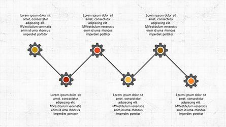 Sequential Process Slide Deck, Slide 5, 04317, Process Diagrams — PoweredTemplate.com