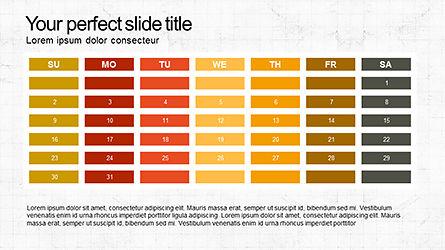 Sequential Process Slide Deck, Slide 6, 04317, Process Diagrams — PoweredTemplate.com