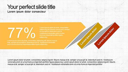 Sequential Process Slide Deck, Slide 7, 04317, Process Diagrams — PoweredTemplate.com
