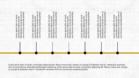 Sequential Process Slide Deck, Slide 8, 04317, Process Diagrams — PoweredTemplate.com