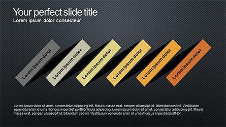Sequential Process Slide Deck, Slide 9, 04317, Process Diagrams — PoweredTemplate.com