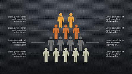 Human Pyramid Infographics, Slide 11, 04318, Infographics — PoweredTemplate.com
