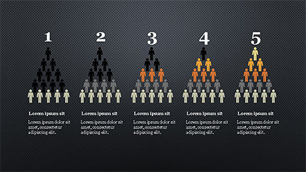 Human Pyramid Infographics, Slide 12, 04318, Infographics — PoweredTemplate.com