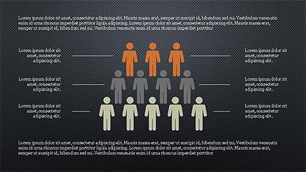 Human Pyramid Infographics, Slide 13, 04318, Infographics — PoweredTemplate.com
