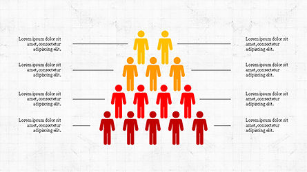 Human Pyramid Infographics, Slide 3, 04318, Infographics — PoweredTemplate.com