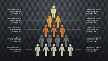 Human Pyramid Infographics, Slide 9, 04318, Infographics — PoweredTemplate.com