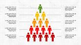 Infographics: Infographie de pyramide humaine #04318