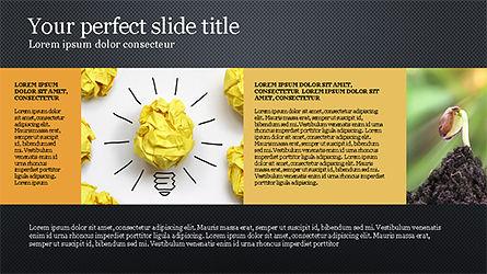 Brochure Style Grid Layout Presentation Template, Slide 12, 04319, Presentation Templates — PoweredTemplate.com