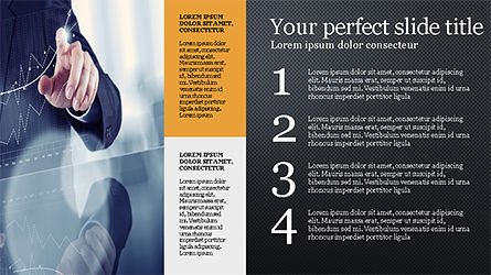 Brochure Style Grid Layout Presentation Template, Slide 14, 04319, Presentation Templates — PoweredTemplate.com