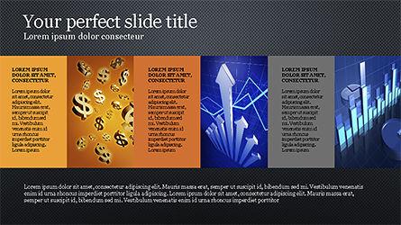 Brochure Style Grid Layout Presentation Template, Slide 9, 04319, Presentation Templates — PoweredTemplate.com
