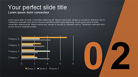Presentation with Numbered Slides, Slide 10, 04321, Presentation Templates — PoweredTemplate.com