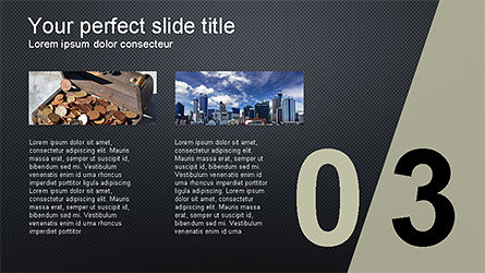 Presentation with Numbered Slides, Slide 11, 04321, Presentation Templates — PoweredTemplate.com