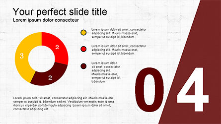 Presentation with Numbered Slides, Slide 4, 04321, Presentation Templates — PoweredTemplate.com