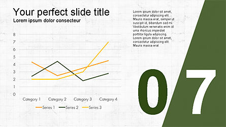 Presentation with Numbered Slides, Slide 7, 04321, Presentation Templates — PoweredTemplate.com